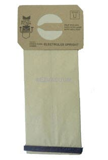 Replacement Electrolux Style U or UP-1 4Ply vacuum bags - 100 pack