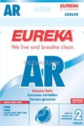 Eureka 58065D Style AR Belt for Home Cleaning System Vacuums 2-Pack