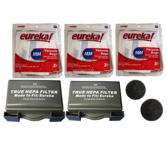 Eureka 3685, 3686, 3695 series canister vacuum Maintenance Kit - Genuine