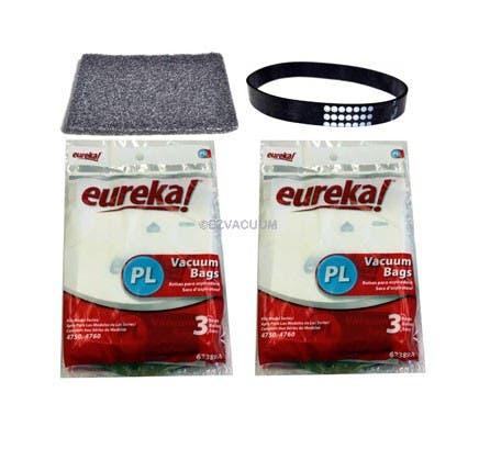 Genuine Eureka 4750, 4760 series bagged vacuum cleaner maintenance kit