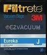 Eureka Type J Filtrete 3M Vacuum Bags - 3 Pack