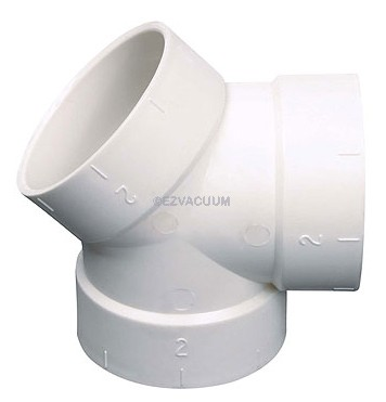 Double Y Central Vacuum Fitting