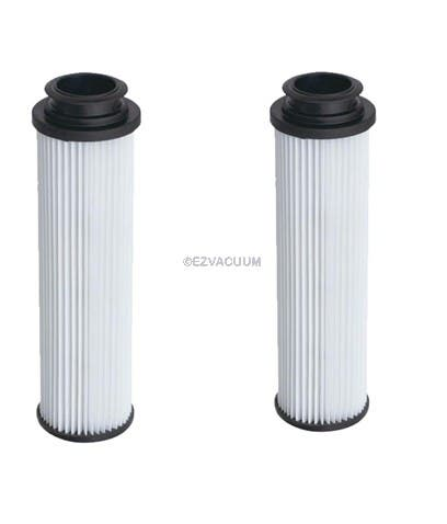 Hoover 40140201 or 43611042 Bagless Upright Round HEPA Filters - 2 Pack