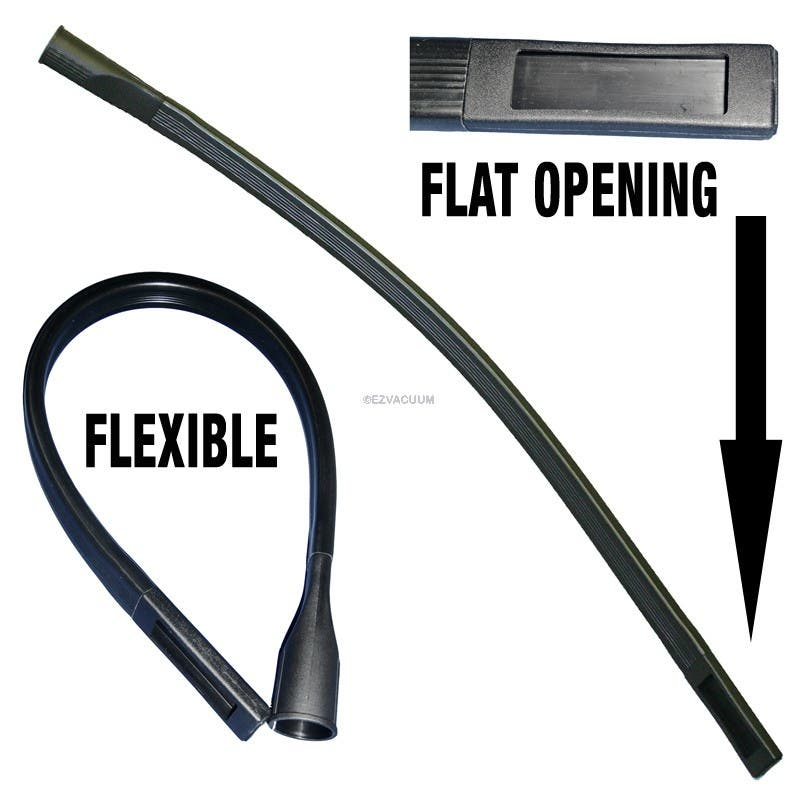 "Extra Long Vacuum Crevice Tool - 36"" - 1 1/4"" Hose End Opening"