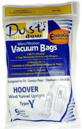 Hoover Y Vacuum Bags 4010100Y- Generic - 9 pack