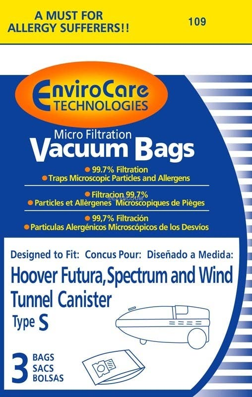 Hoover Style S Micro Filtration Generic 3 Pack