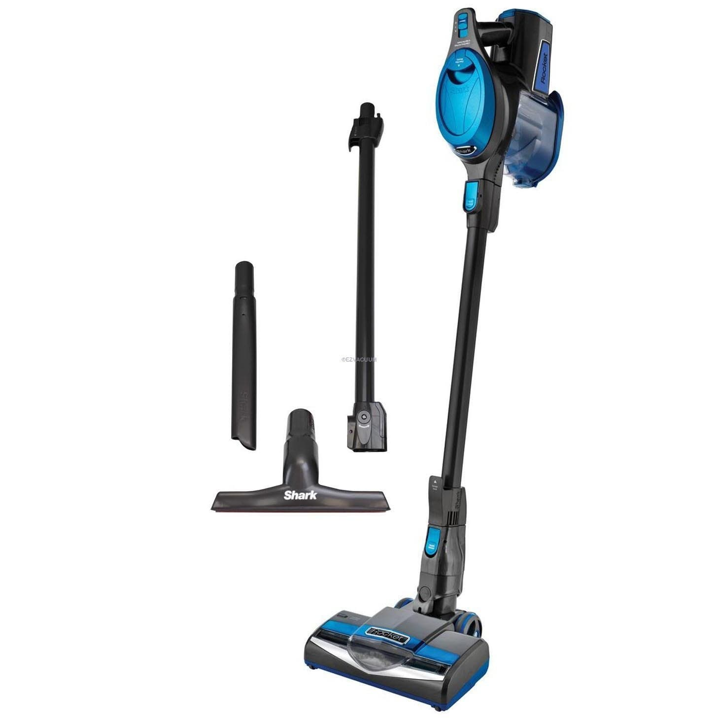 Shark Rocket Deluxe Pro Ultra-light Corded Vacuum, Teal HV300 (Certified Refurbished)