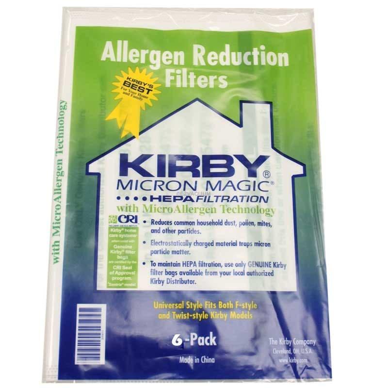 Kirby Sentria Micron Magic HEPA Filtration Vacuum Bags - Genuine - 24 bags + 4 Free belts