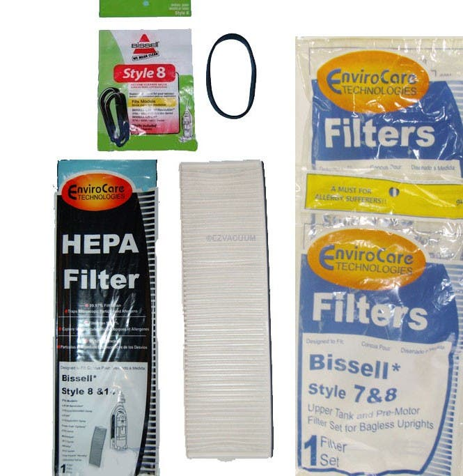 Bissell Lift-Off Vacuum Cleaner kit - 1 Year Supply  Maintenance - Generic