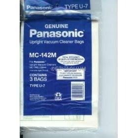 Panasonic  Type U7 Vacuum Bag MC-142M - Genuine - 3 Pack