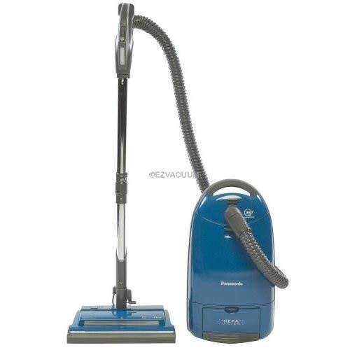 Panasonic MC-CG973 Power Head Canister Vacuum Cleaner, Dark Blue