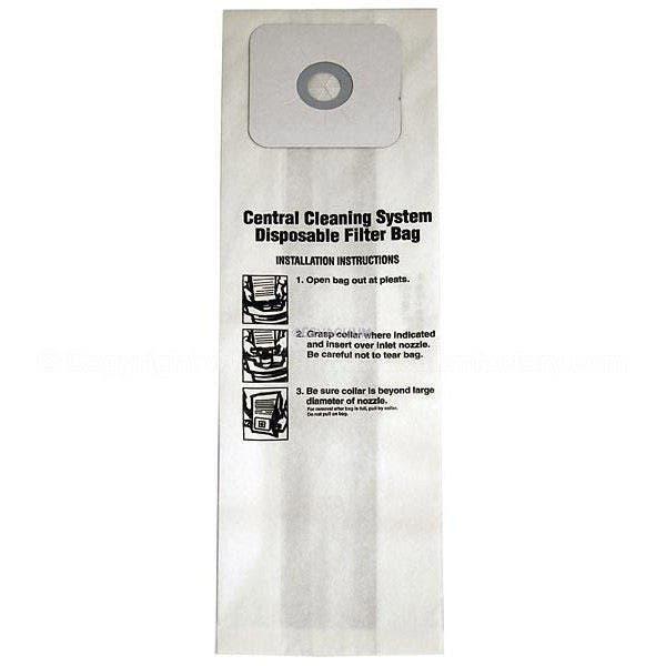 NuTone 391-8 Central Vacuum Bags - Generic - 3 pack