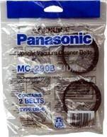Panasonic MC-230B Type UB-1 belts - Genuine -2 pack
