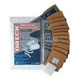 Genuine Oreck Buster B Odor Fighting Charcoal Filtrete Paper Bags - 12 Pack