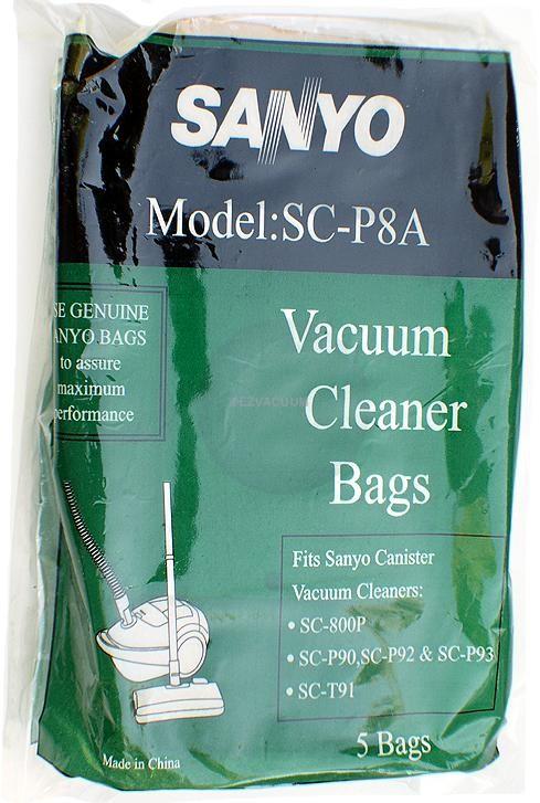 Sanyo SC-P8A Bags- Genuine -5 pack