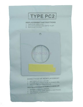 Sharp Micro-lined PC-2 Canister Vacuum Bags- 36 bags
