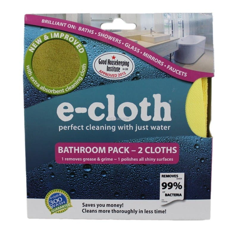 e-cloth Bathroom Pack, 2-Piece