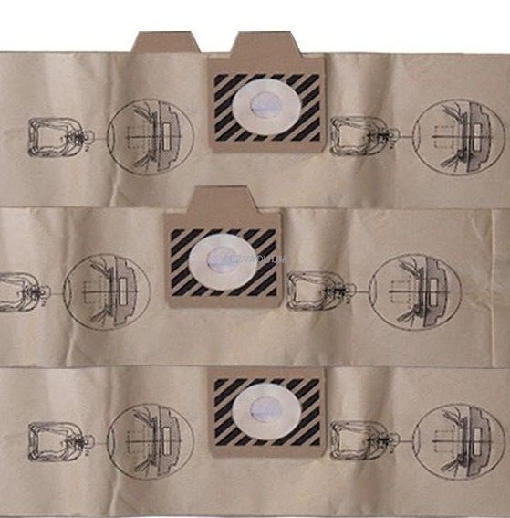 Commercial 1406905020 Clarke Nilfisk Advance Kent Canister Vacuum Cleaner Bags