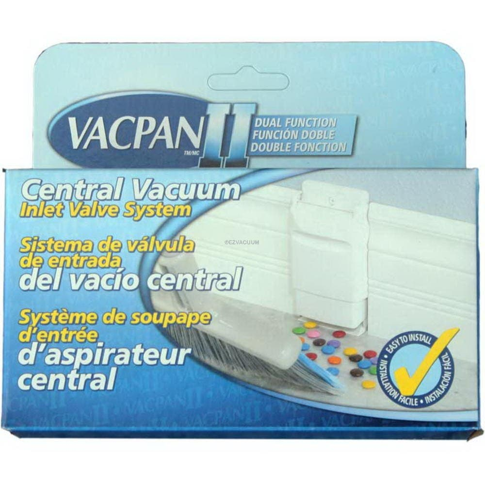 VacPan II Central Vacuum Inlet Valve System