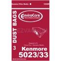 Kenmore 5023 vacuum cleaner bags- 3 Pack - Type E