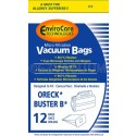 Oreck PKBB12DW Compact Canister Buster Bee Bag - Generic - 12 Pack