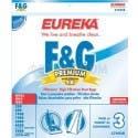 Eureka  F  G Filteraire Vacuum Bags 57695B - Genuine - 3 pack