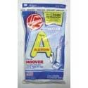 Hoover A Allergen Vacuum Bags 4010100A - Genuine - 3 pack