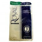Royal / Dirt Devil Type J Vacuum Bags  3-040447-001 - 3 Pack - Genuine