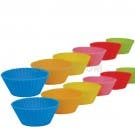 Casabella Muffin Cups Mini Silicone Set Of 12