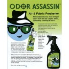 Odor Assassin Air & Fabric Odor Eliminator Spring Rain Scent