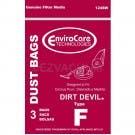 Dirt Devil Type F Vacuum Bags 3-200147-001 - Generic - 3 Bags