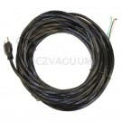 Fit All Heavy Duty 50 Feet 18 Gauge 3 Wire Black Commercial Vacuum Power Cord