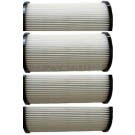 4 Pack Dirt Devil / Royal HEPA Filters Vision Lite  Platnum Force Perma 2-860211-000 - Generic