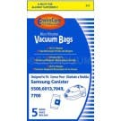 Samsung VP-77F Canister 5500, 6013, 7049 and 7700 Bags- Generic -5 pack