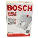 Bosch Megafilt Supertex Type G Vacuum Cleaner Bags - 462544 - 5 Bags