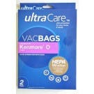 Genuine Sears Ultracare Kenmore 50688 or 50690 Upright Hepa Type O Cloth Bags - 2 Pack