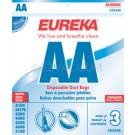 Eureka AA Vacuum Bags 58236B - Genuine - 3 Pack