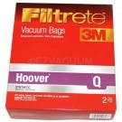 8 Hoover Type Q AH10000 HEPA Like Filtration Vacuum Bags for Hoover Platinum Model UH30010COM
