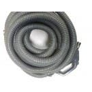 Plastiflex 30' Gray Hose for Central Vacuum Systems  805830GUVDC