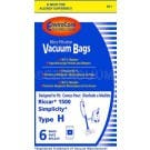 Riccar RC1700 Vacuum Cleaner Bags - 6 Pack