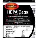Simplicity Synchrony SWH-6 HEPA Vacuum Bags- 6 pack