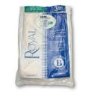 Royal/Dirt Devil 3-871075-001 Type B HEPA Filtration Vacuum Bags- Genuine  - 3 pack