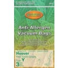 Hoover Y- Advanced Fiber Filtration Vacuum Bags 4010801Y- Generic - 3 Pack
