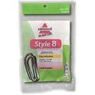 Bissell Style 8 & 14 Belts for Bissell Lift-Off Bagless Vacuums - Genuine - 2 Pack