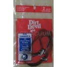 Dirt Devil 3210395001 Style 3 Vacuum Cleaner Belts - 2 Pack