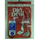 Dirt Devil 3400615001 Style 7 Belt - 2 pack