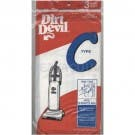 Royal/Dirt Devil 3-727075-001 Type C MVP Standard Paper Bags - Genuine - 3 pack