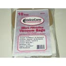 Commercial Vacuum Bags 56004 Triple S Speedster 600 1000 Vac SSS Backpack ECC167