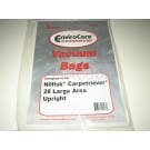Nilfisk Carpetriever Upright Commercial Vacuum Bags # ECC508 - Generic - 3 Pack