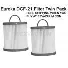 2 Eureka DCF-21, DCF21 Dust Cup Filters 68931 Free S/H